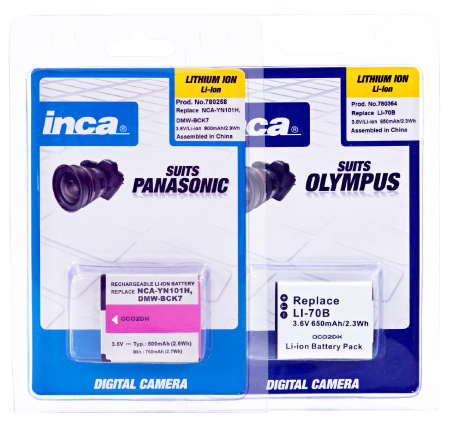 inca replacement batteries